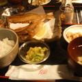 写真: グルクンという沖縄の県魚のから揚げ