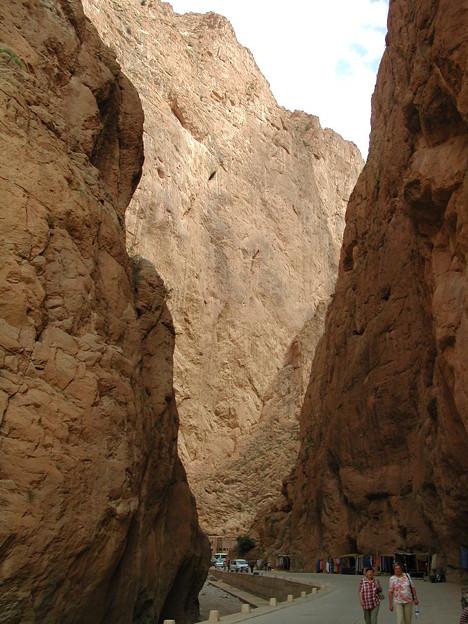 Moroccoトドラ渓谷