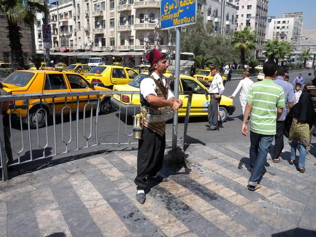 Syria ダマスカス 街の紅茶売り