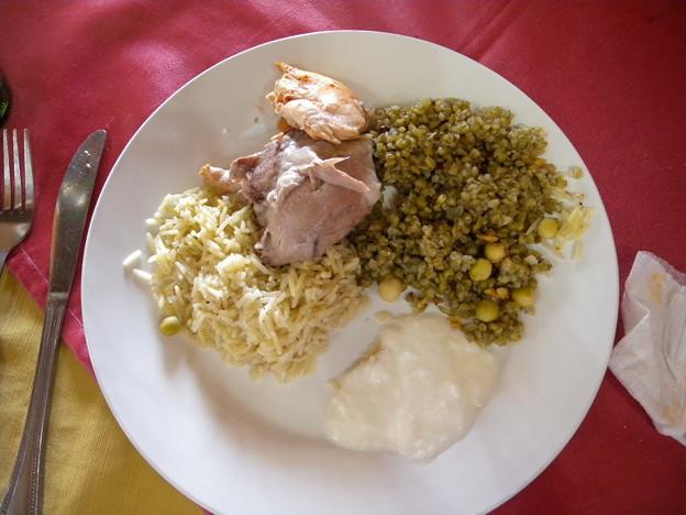 Syria マンサフ料理2