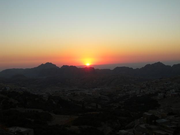 Jordan061ペトラの夕陽