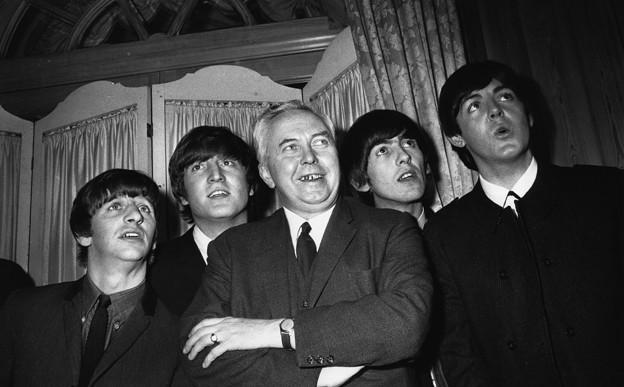 with Harold Wilson