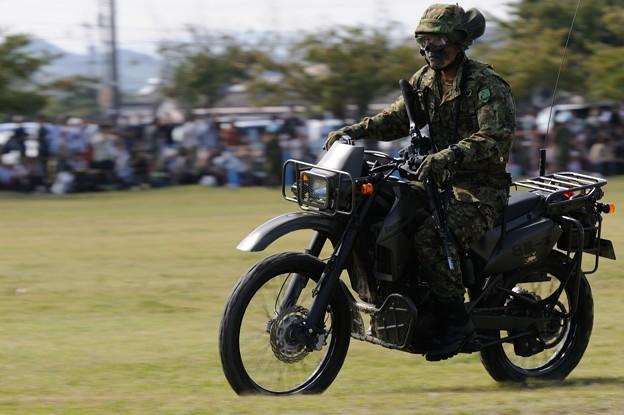 D300s_20131006_308 模擬戦闘 バイク