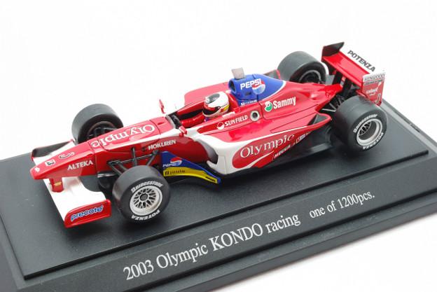 EBBRO_KONDO RACING Formula NIPPON 2003 No.3_001
