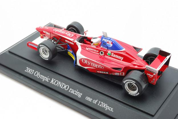 EBBRO_KONDO RACING Formula NIPPON 2003 No.3_002