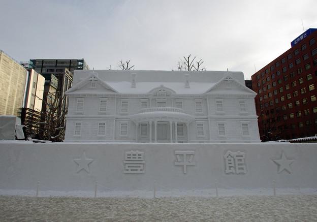 札幌雪まつり・豊平館
