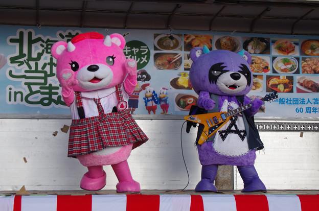 コアックマちゃん&アックマ様(ライブステージ)