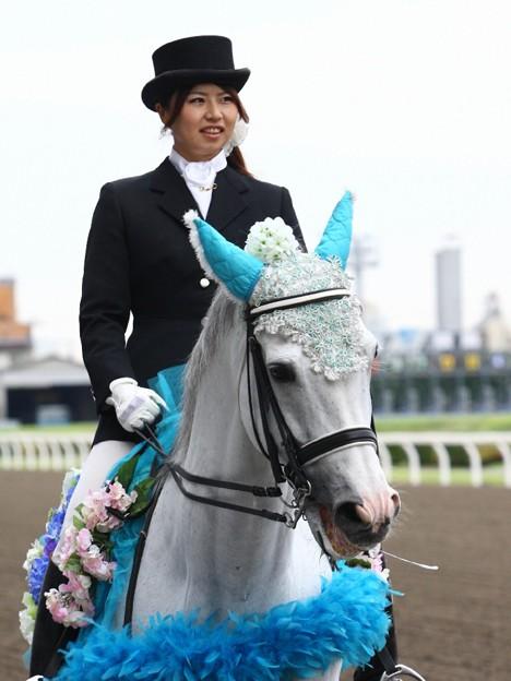 写真: 川崎競馬の誘導馬06月開催 紫陽花Ver-120611-19-large