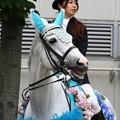 写真: 川崎競馬の誘導馬06月開催 紫陽花Ver-120611-22-large