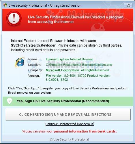 Photos: Live-Security-Professional-Firewall-Alert