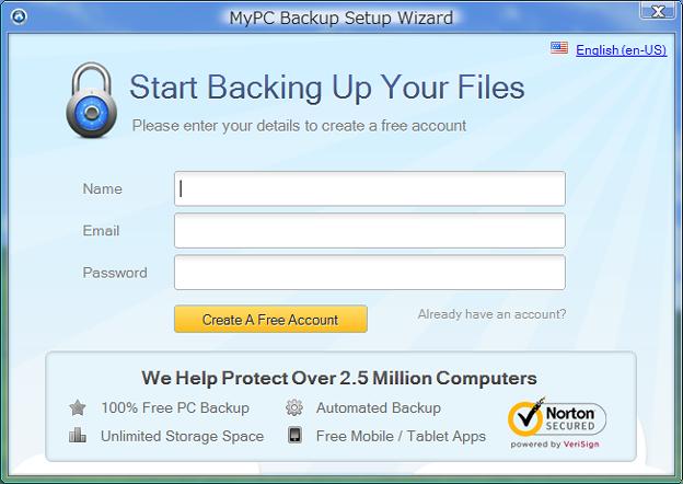 myPC Backup1