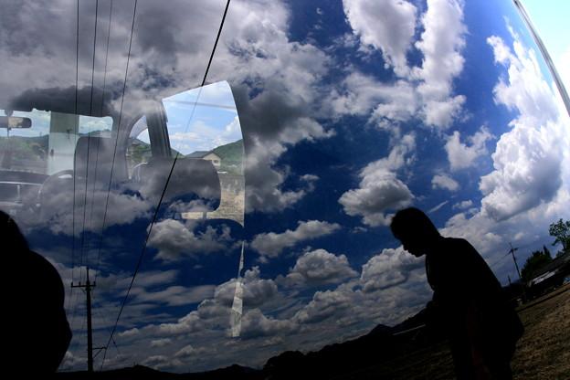 窓に映る空 - 写真共有サイト「...