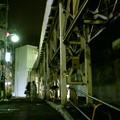 Photos: 王子公園駅前。僕は、夜の駅前がなんとなく好きである。