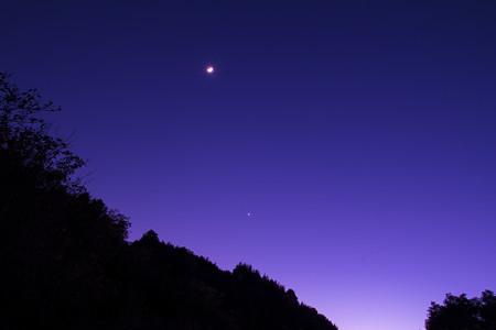 三日月&宵の明星