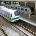 模型:東京メトロ6000系と16000系その2