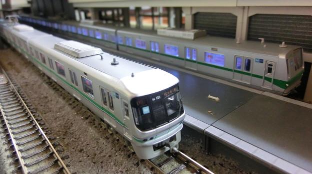 模型:東京メトロの06系と6000系その1
