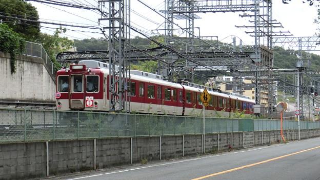 生駒線と田原本線の近鉄合併50周年で臨時急行新王寺行き。
