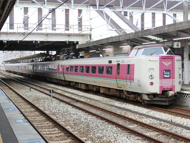 JR西日本:381系(やくも)-01