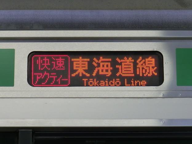JR東日本E231系:快速アクティー 東海道線