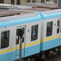 京阪800系の優先座席ステッカー位置-02
