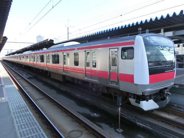 JR東日本:E233系5000番台(551)-01