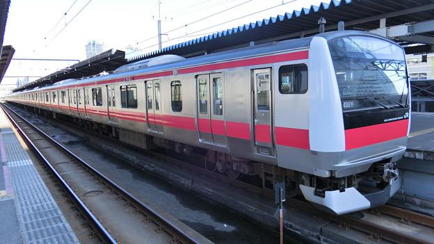 JR東日本:E233系5000番台(501)-01