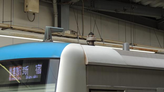 小田急4000形の無線アンテナ