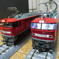 EF510形KATO製とTOMIX製-01