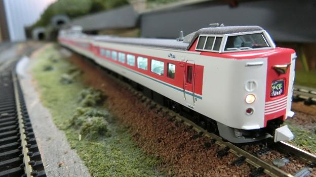 模型:JR西日本 381系-06(ゆったりやくも)
