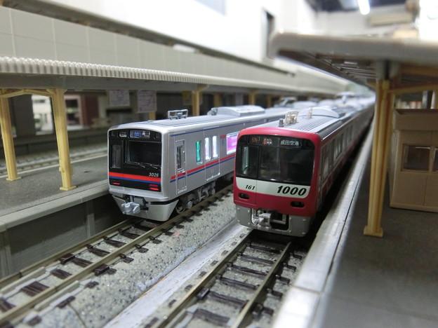 模型:京成3000形と京急1000形-01