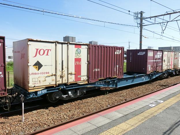 JR貨物:コキ104形-07