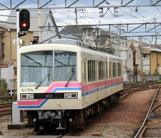 叡電:デオ800形-01