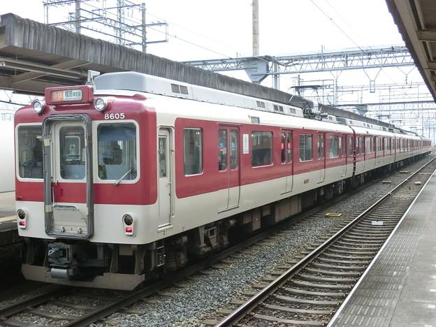近鉄:8600系(8605F)・1233系(1241F)-01