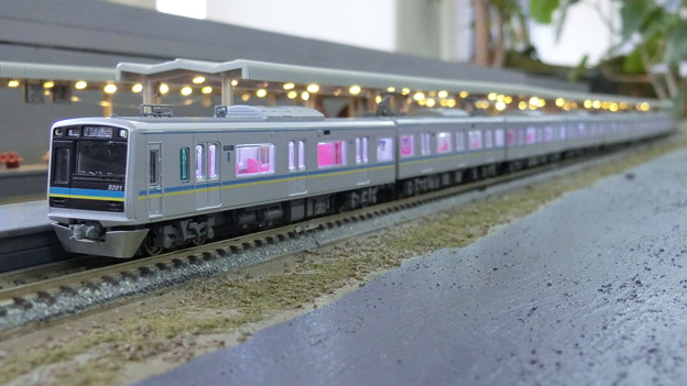 Photos: 模型:千葉ニュータウン鉄道9200形-03