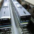 写真: 模型:千葉ニュータウン鉄道9200形と9800形