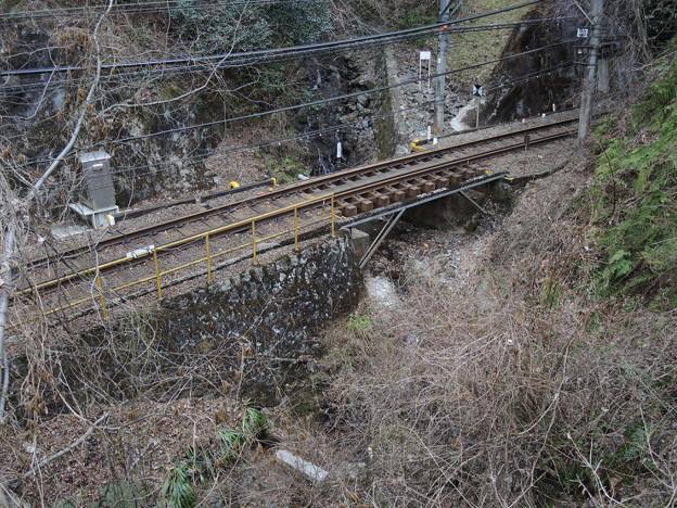 Photos: 静寂の鉄路と川のせせらぎ