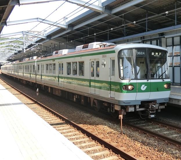 神戸市交通局3000形(3124F)-01