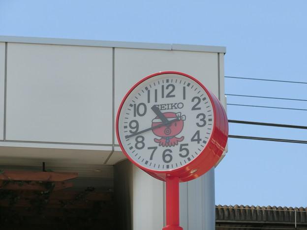 明石のタコ時計
