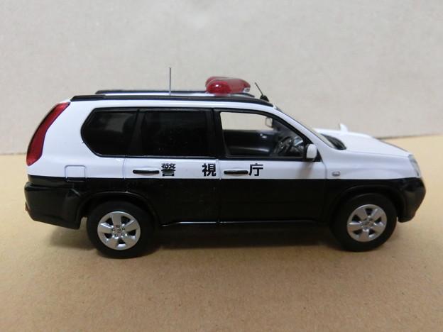 写真: 1/43警察車両:日産エクストレイル 20S(T31) 警視庁所轄署山岳警ら車両-01