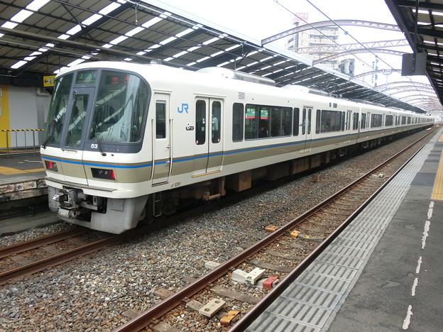 写真: JR西日本:221系(NB808)-01