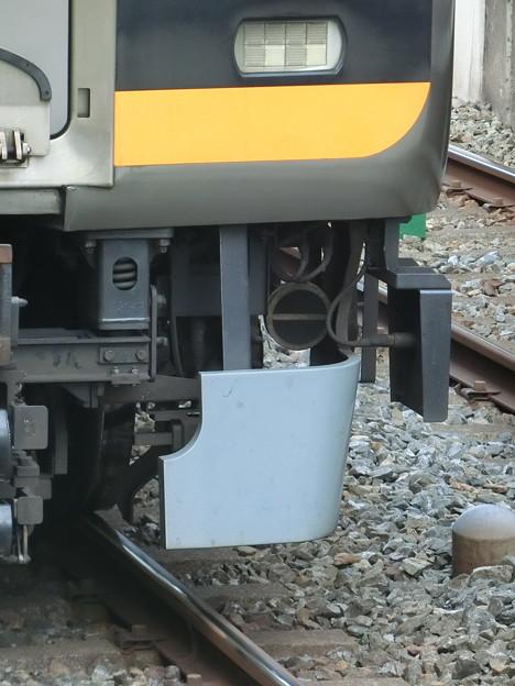阪神9000系の列車種類選別装置車上子(その1)