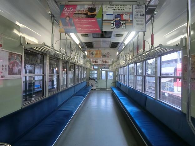 叡電:デオ710形(車内)-01