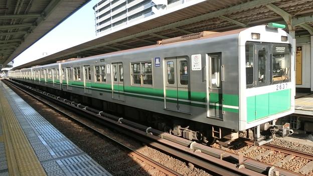 大阪メトロ:20系(2637F)-01