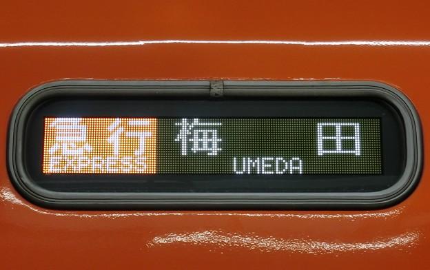 阪神8000系:急行 梅田 (LED)