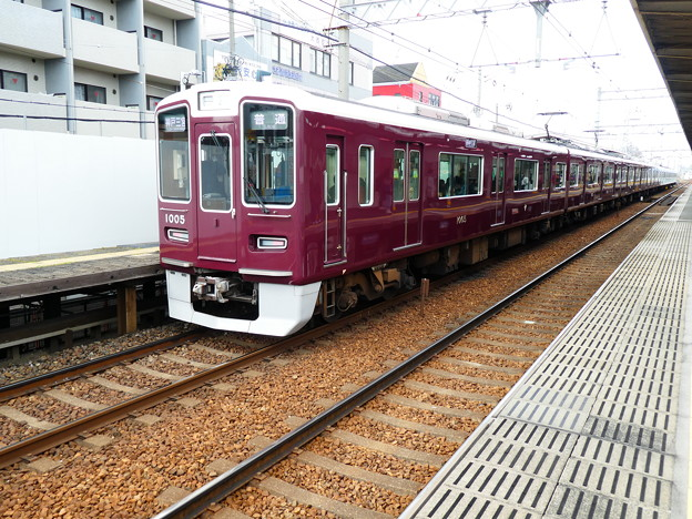 Photos: 阪急:1000系(1005F)-02