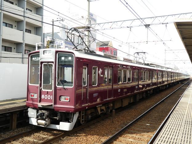 Photos: 阪急:8000系(8001F)-03
