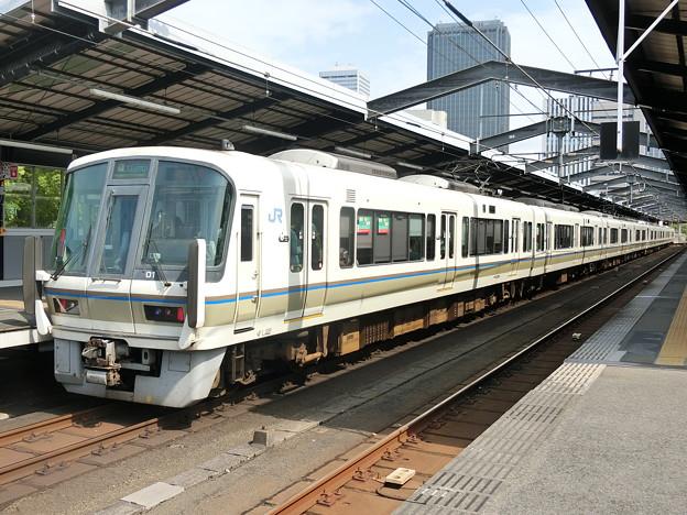 JR西日本:221系(NA418・NA408)-01
