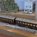 2両だけ引っ張るE10蒸気機関車。