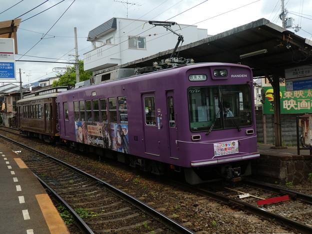 嵐電:モボ611形(616)・モボ21形(27)-01