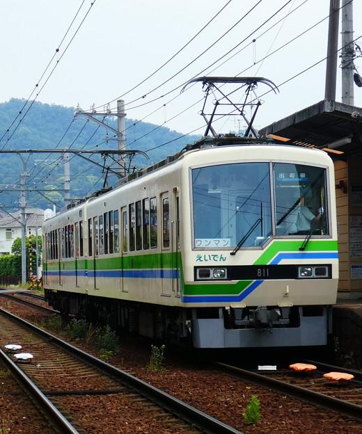 叡電:デオ810形-09